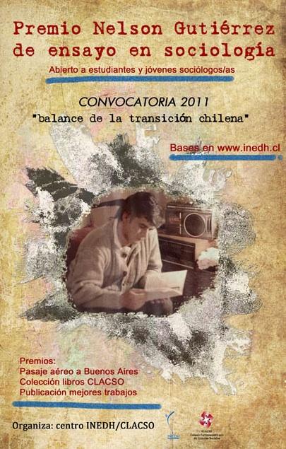 afiche premio inedh-clacso 2011
