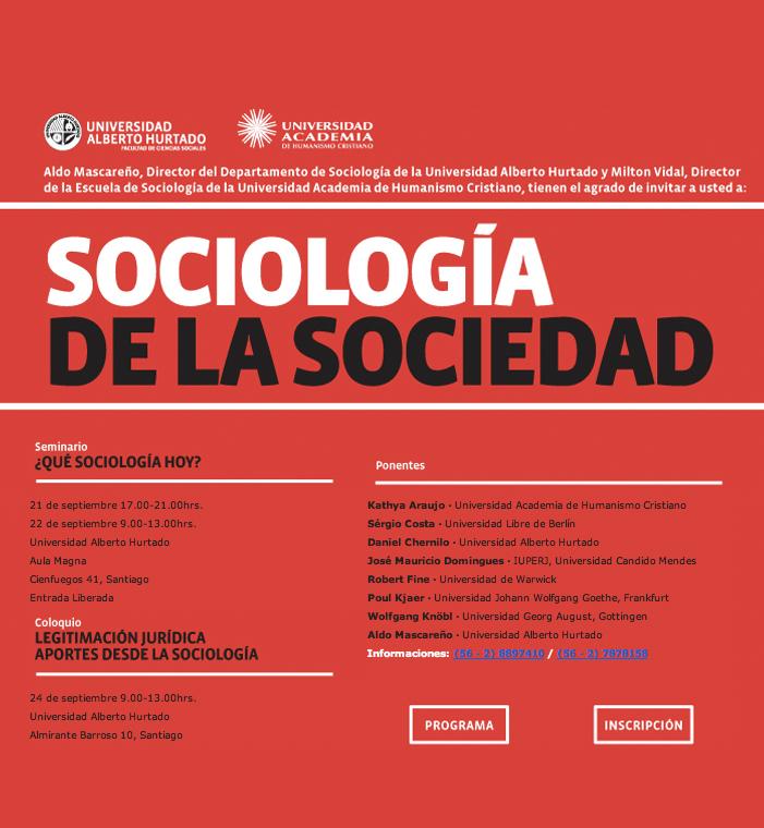 sociologia de la sociedad