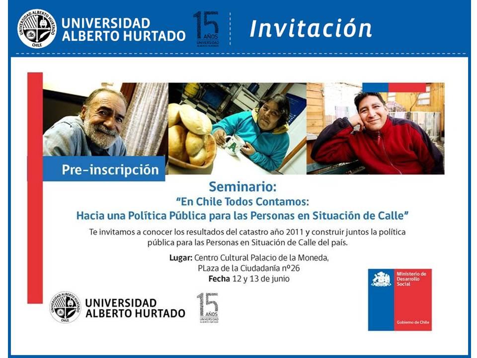 Seminario En Chile Todos Contamos